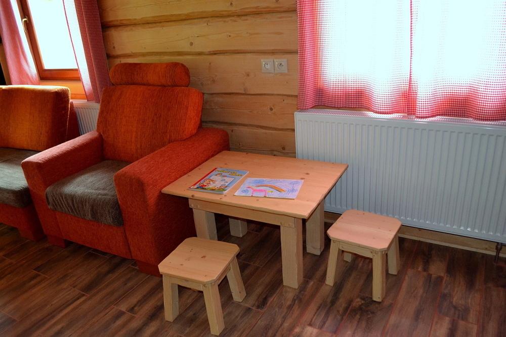 Detské kútik na chate Kukulienka