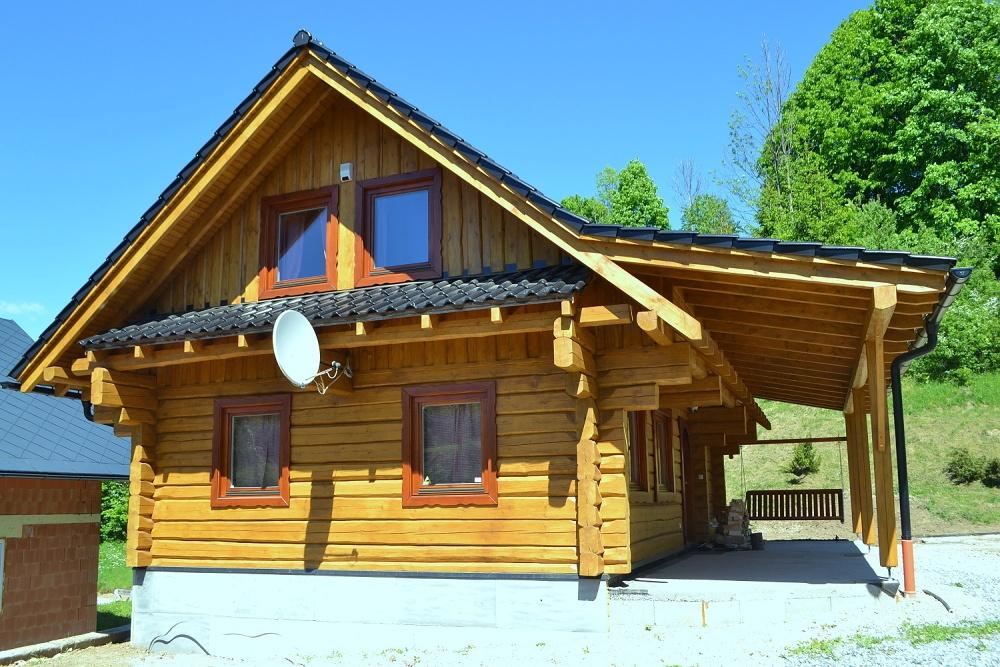 Chata Kukulienka v Terchovej, pohľad spredu