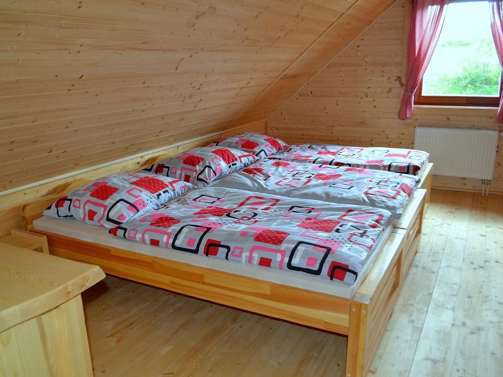 Izba na poschodí - 3 postele | Chata Kukulienka