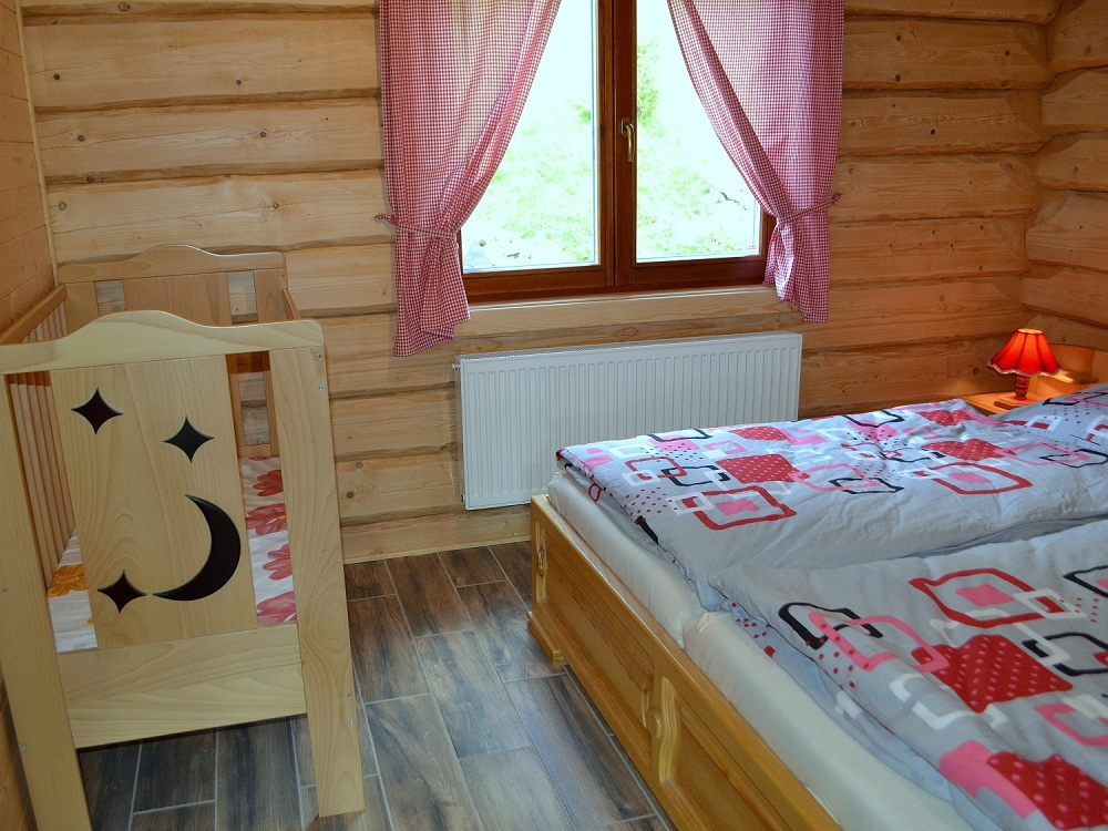 Izba na prízemí s kolískou | Chata Kukulienka