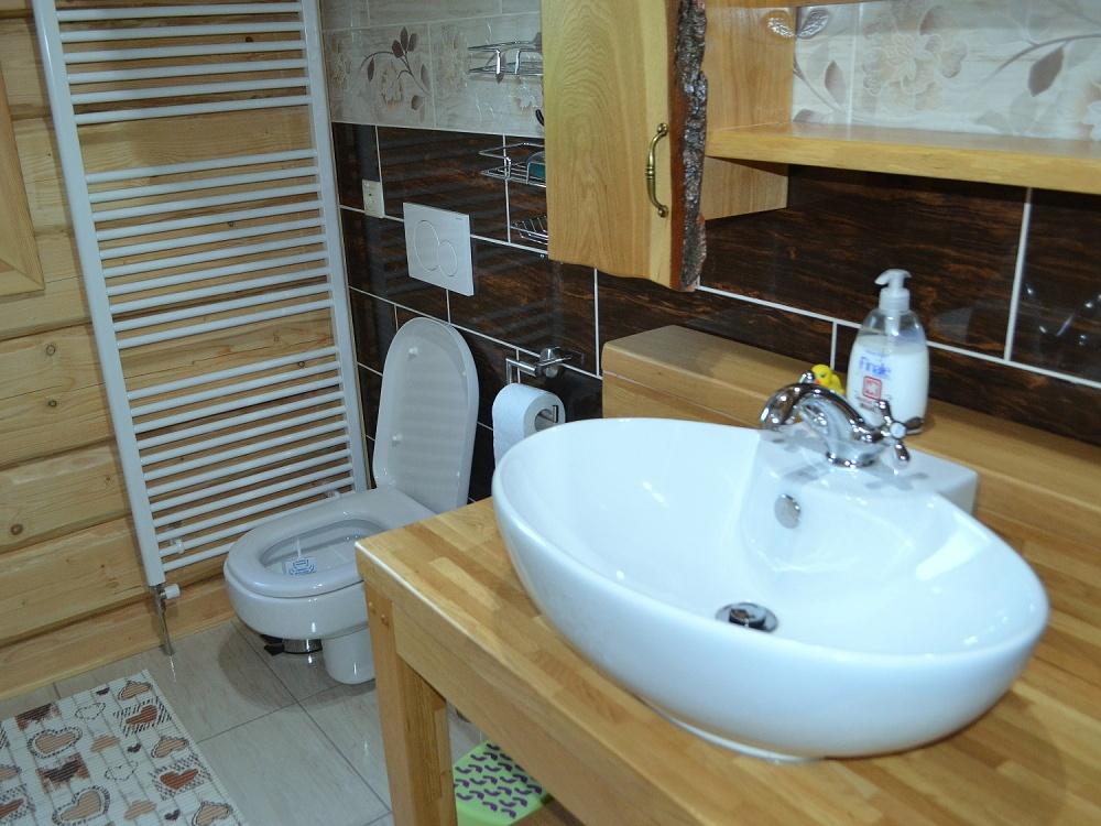 Kúpelňa a WC | Chata Kukulienka