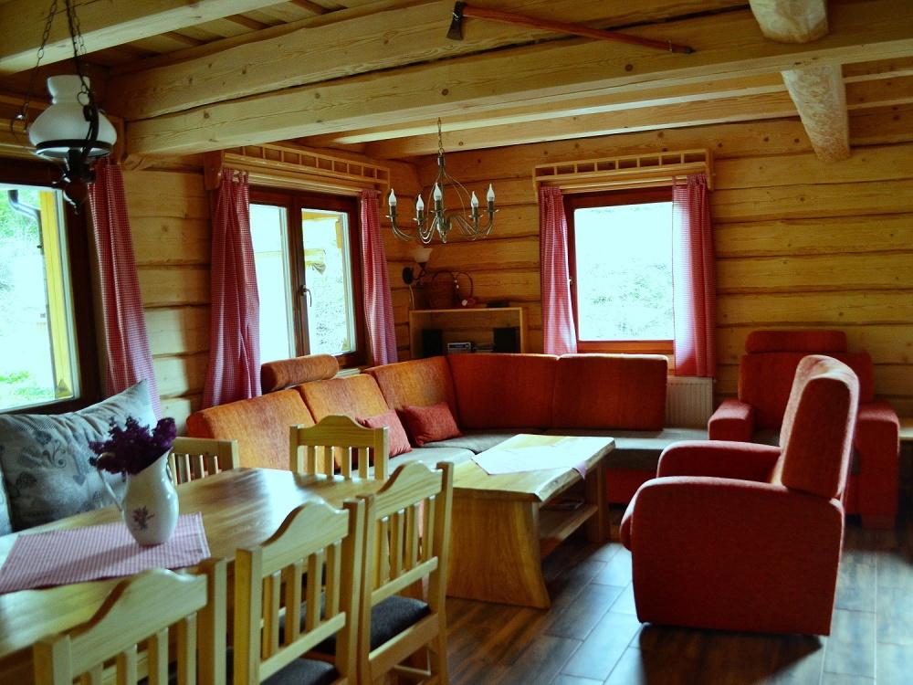 Obývačka | Chata Kukulienka